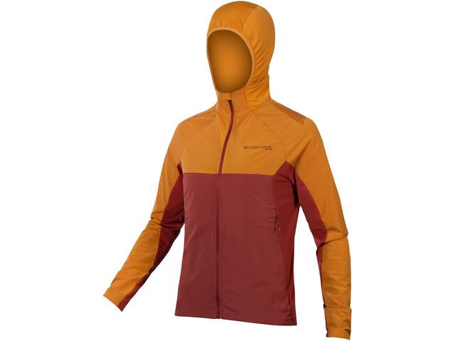 Endura MT500 II Longsleeve Thermo Jersey Heren, oranje